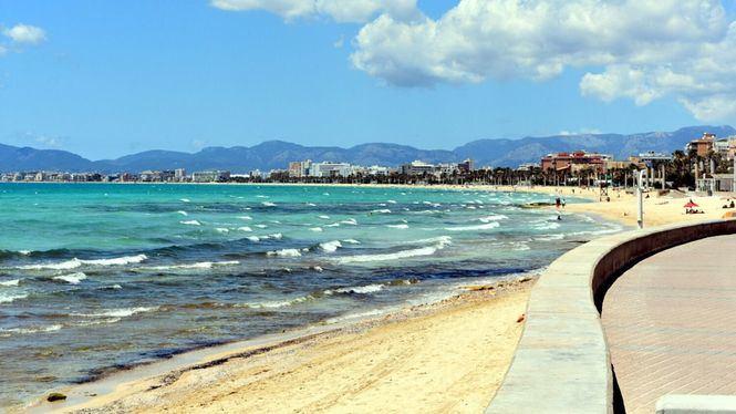 En Palma de Mallorca, cinco playas y ocho zonas de baño