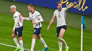 Inglaterra gana la Eurocopa en las redes sociales