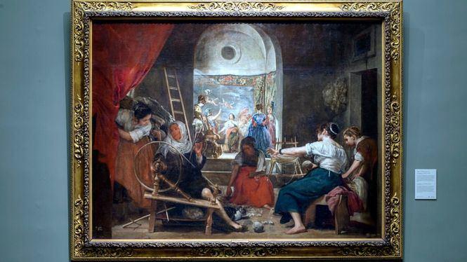El Museo del Prado restituye la visión original de Las hilanderas de Velázquez