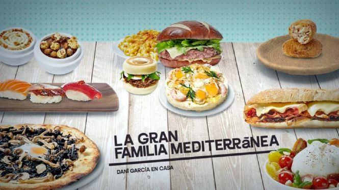 Menús exclusivos de la Gran Familia Mediterránea disponibles en Glovo