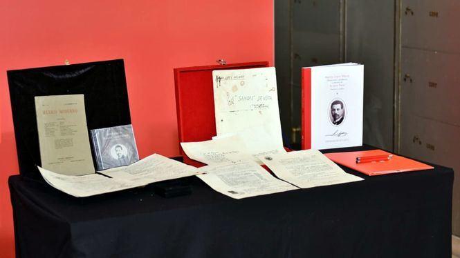 El legado del poeta Ramón López Velarde se guarda en la Caja de las Letras