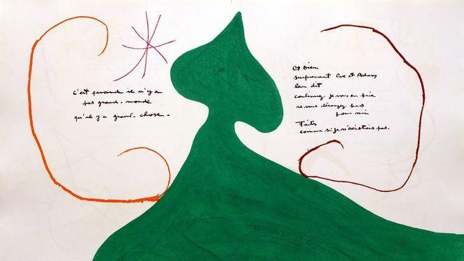 Exposición: Miró Poema. En la Fundación Mapfre (Madrid)