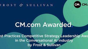 La plataforma de comunicación CM.com recibe el premio de Frost & Sullivan