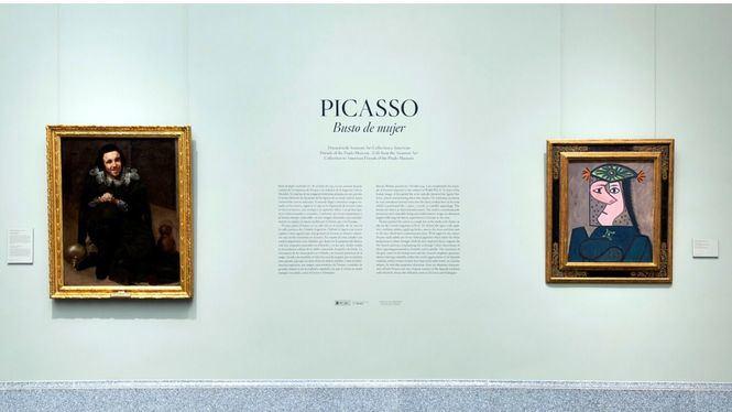 El Museo del Prado expone, en depósito, Busto de mujer de Picasso
