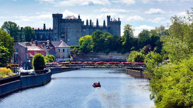 La belleza medieval de la ciudad de Kilkenny (Irlanda)