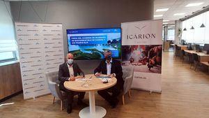 Icárion, el primer operador que se incorpora al programa SAF de Air France-KLM
