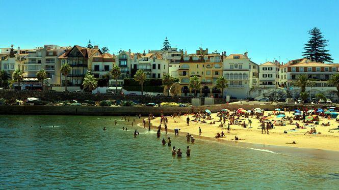 Zonas costeras de Lisboa bañadas por el Atlántico