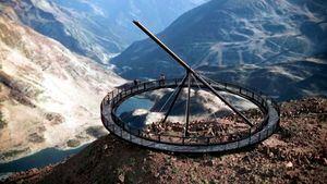 El Mirador Solar de Tristaina, el nuevo monumento panorámico de Ordino Arcalís