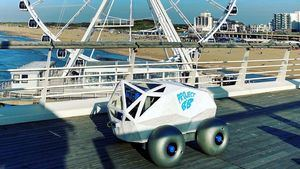 Un robot que se apoya en la Inteligencia Artificial de Microsoft, detecta y extrae las colillas de la playa