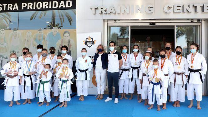 La karateca Sabrina Medero llevará la Marca Marbella en el próximo Campeonato Europeo