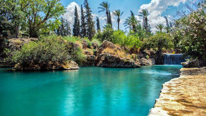 Lugares paradisíacos, lejos del mar, para darse un baño en Israel