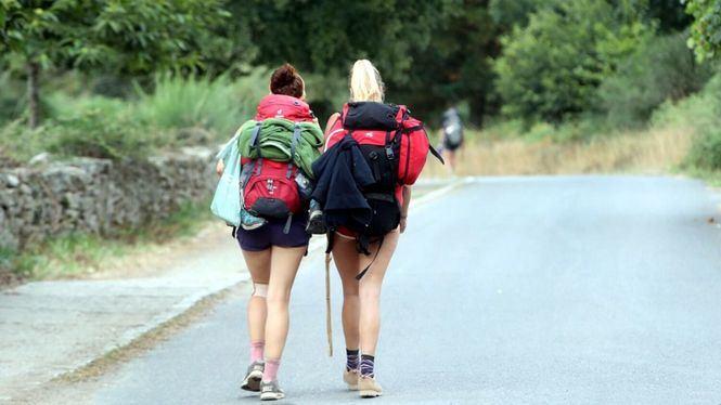Compostela recibe más de un millar de peregrinos al día en agosto