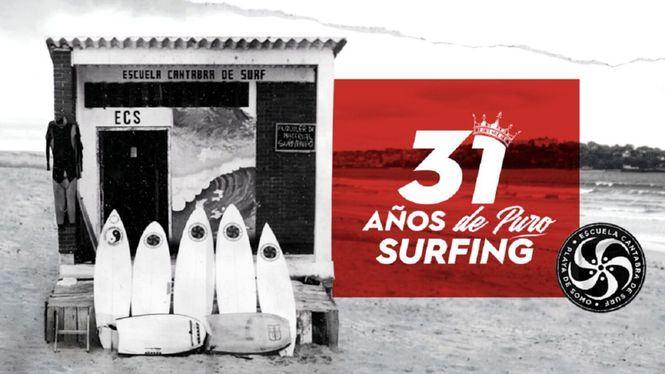 Vuelve el Festival de Surf Escuela Cántabra y celebra a lo grande su 31 aniversario