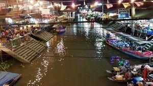 Amphawa Floating Market, Tailandia