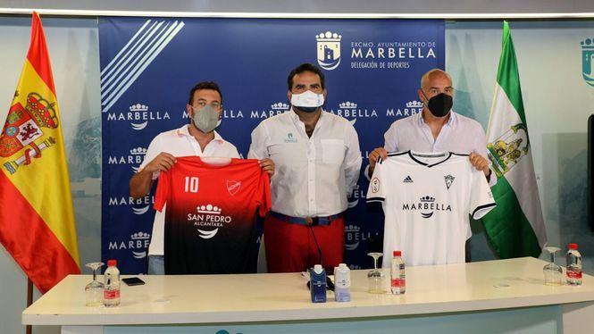 El Ayuntamiento vuelve a patrocinar al Marbella FC y a la UD San Pedro