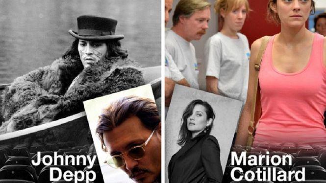 Zinemaldia ofrecerá películas protagonizadas por Marion Cotillard y Johnny Depp