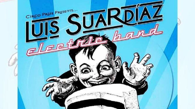 Luis Suardíaz Electric Band presenta su CD Come and get it! en el Elefante Blanco