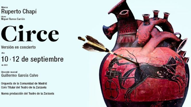 Circe, en versión concierto, se presenta en el Teatro de la Zarzuela