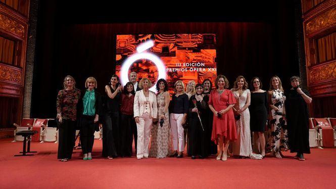 Ópera XXI entregó los galardones de la lírica en su tercera edición