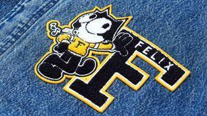Levi's y el dibujo animado Gato Félix presentan una colección de inspiración universitaria