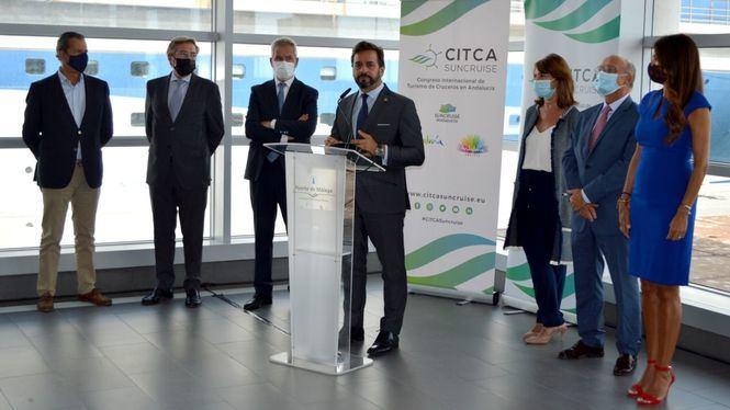 Presentación del II Congreso Internacional de Turismo de Cruceros de Andalucía