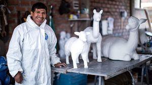 Artesanía e imaginería de Perú atractivos de las festividades navideñas en la Plaza de San Pedro