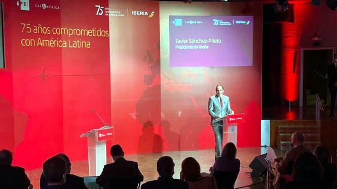 Iberia, 75 años volando a América Latina
