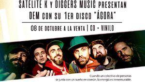Satélite K y Diggers Music presentan DEM y su primer disco Ágora