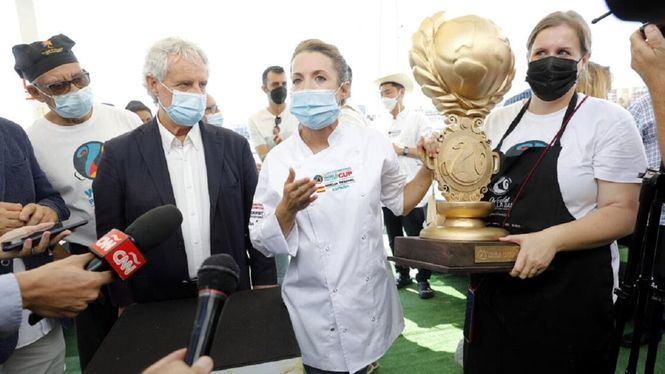 Noelia Pascual ganadora de la World Paella Day Cup 2021