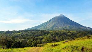 Costa Rica. Volcan Arenal
