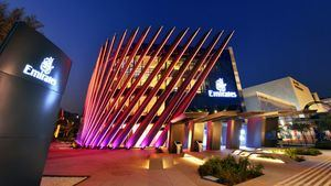 El pabellón de Emirates de la Expo 2020 de Dubái, listo para recibir a los visitantes