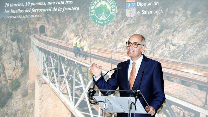 Camino de hierro, nuevo producto turístico de Salamanca