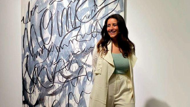Amina Kouissar, ganadora del Premio Arte Emergente Interactivo Infinity Art 2021