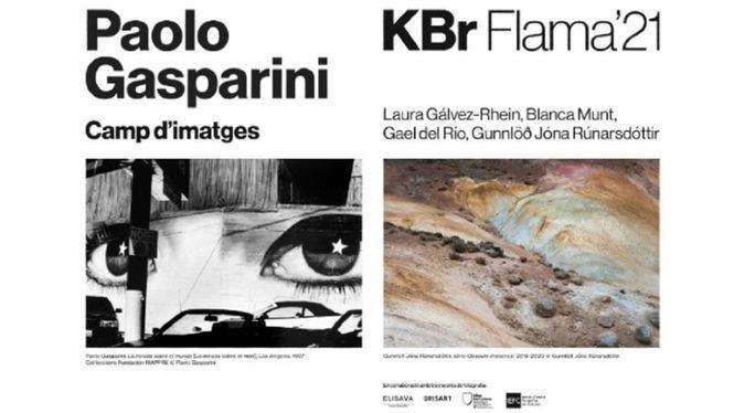 Paolo Gasparini y KBr Flama 21 en el centro KBr Fundación MAPFRE, en Barcelona