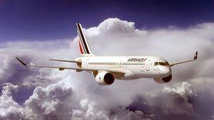 Air France recibe el primer Airbus A220-300