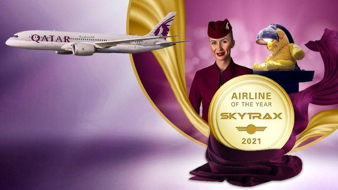 Qatar Airways nombrada Aerolínea del Año por Skytrax por sexta vez