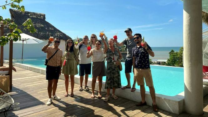 Los principales touroperadores españoles han realizado un viaje de familiarización a la Riviera Nayarit