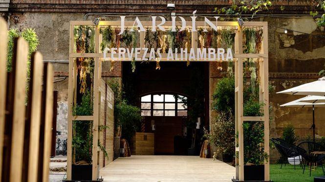 Jardín Cervezas Alhambra celebra su última semana en el Museo del Ferrocarril