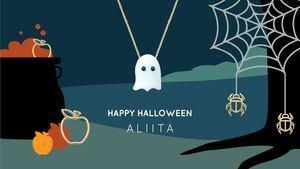 Fantasma, nuevo colgante para Halloween de la firma de joyería italiana Aliita