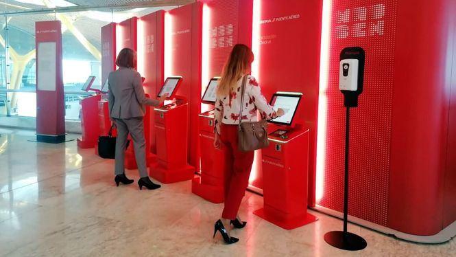 Iberia incrementa la oferta en el Puente Aéreo un 50%