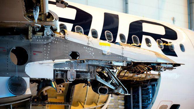 Una antigua aeronave de Finnair se convierte en el primer avión de pasajeros reciclado en Finlandia