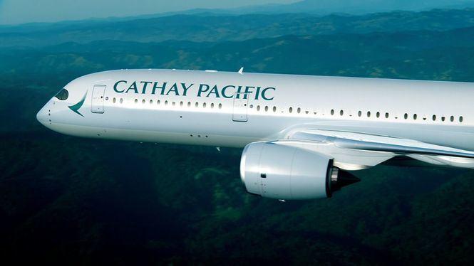 La aerolínea Cathay Pacific nombrada Lo mejor en el futuro de la conectividad