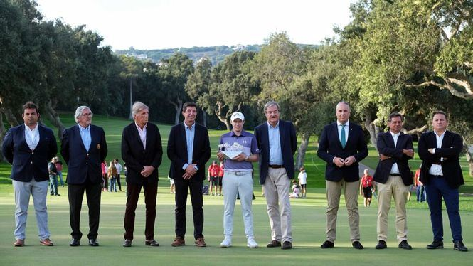 El golfista británico Matt Fitzpatrick ganador del Estrella Damm N/A Andalucía Masters