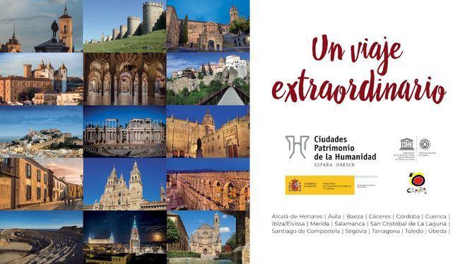 Un viaje extraordinario, el proyecto audiovisual de Ciudades Patrimonio para su promoción