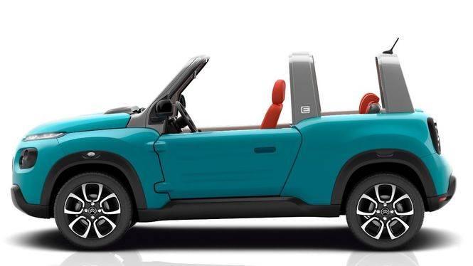 CITROËN E-MÉHARI: El icono de los sesenta vuelve como vehículo electrónico