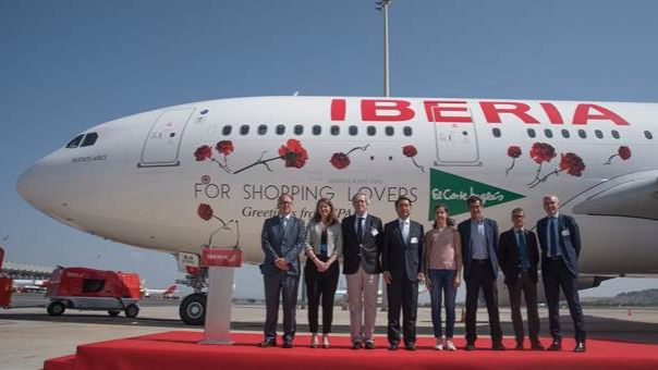 Iberia estrena los vuelos a China