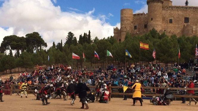 "La 'Champions League"" del combate medieval vuelve al Castillo de Belmonte"
