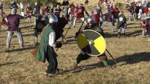 Batalla de Atapuerca, para trasladarse al Medievo