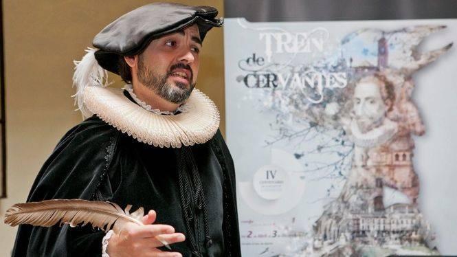 En el IV Centenario de la muerte del autor de 'El Quijote' récord de viajeros en el Tren de Cervantes