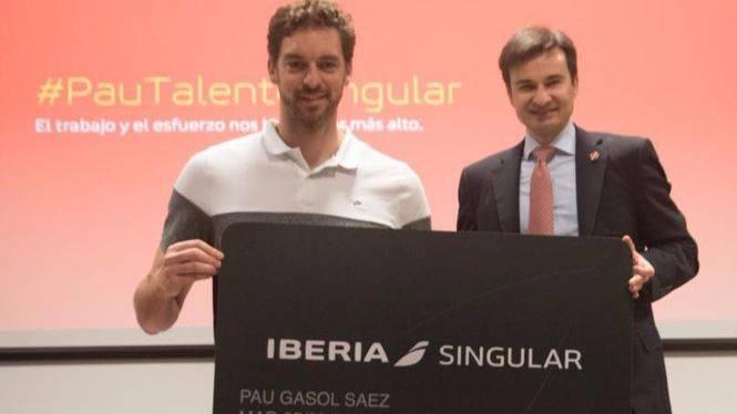 Pau Gasol, embajador de la marca Iberia